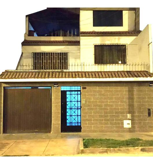 Casa 3 Pisos En Los Olivos - Covida