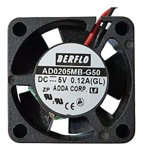 Imagem 1 de 5 de Cooler Micro Ventilador 25x25x10mm 5v 10.000rpm Rolamento Duplo
