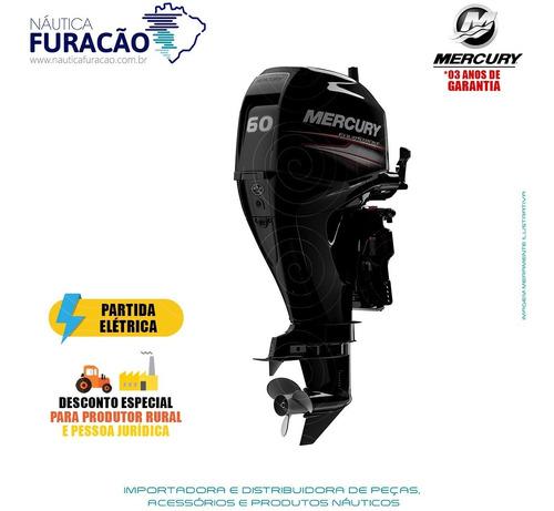 Motor De Popa Mercury 4 Tempos 60hp Elpt Efi