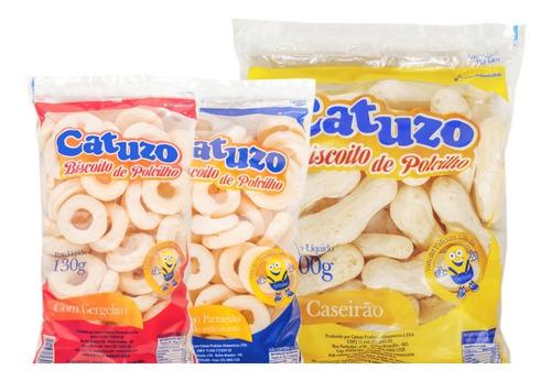 Imagem 1 de 1 de Kit Biscoito De Polvilho Sabores Catuzo - Cx/14 Un