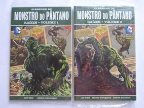 Monstro Do Pântano Raízes Vol.1 E Vol. 2 Panini