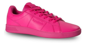 Tenis Reebok Royal Rally Classic Mujer Fucsia