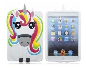 Capinha Capa Case Unicornios 3d Para iPad Infantil Menina