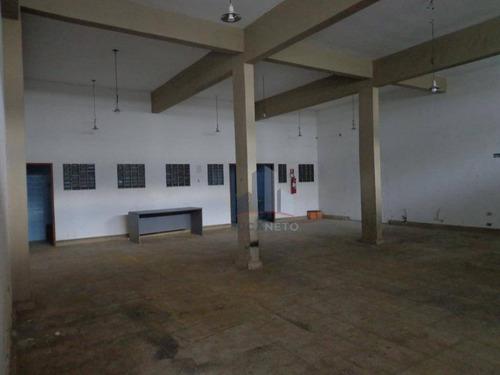 Salão Para Alugar, 400 M² Por R$ 4.000,00/mês - Jardim Guapituba - Mauá/sp - Sl0104
