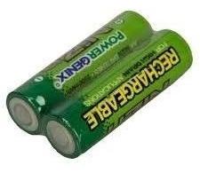 2 Bateria Recarregável Pilha Aa 1,6v 2500mah Ni-zn Sony