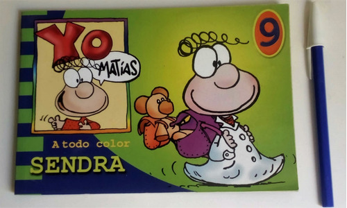 Yo Matias 9 De Sendra (a5)