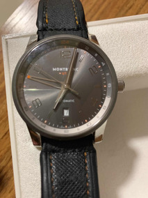 Relógio Mont Blac 42mm Timewalker Voyager Utc 109136