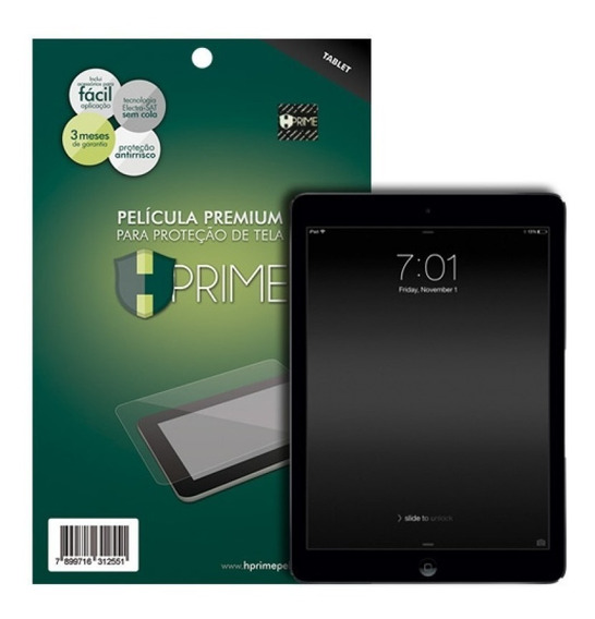 Pelicula Hprime Vidro iPad Air 1 2 New iPad iPad Pro 9.7