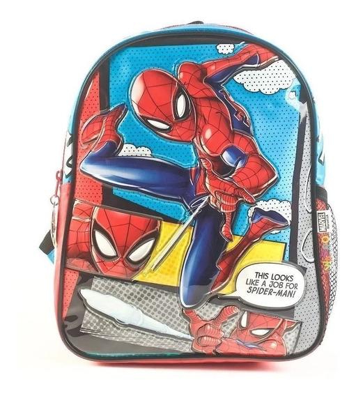 Mochila Jardin 12 ´´ Spiderman - Hombre Araña Itoys