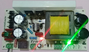Fonte 800w 60+60 Volts Amplificador De Áudio Classe D 1200w