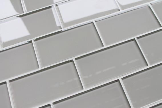 Azulejos De Vidrio Subway5.5x14cm . Valor X Pack De 11unid.