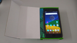 Motorola Moto G5 Turbo 32gb Em Bom Estado Com Película