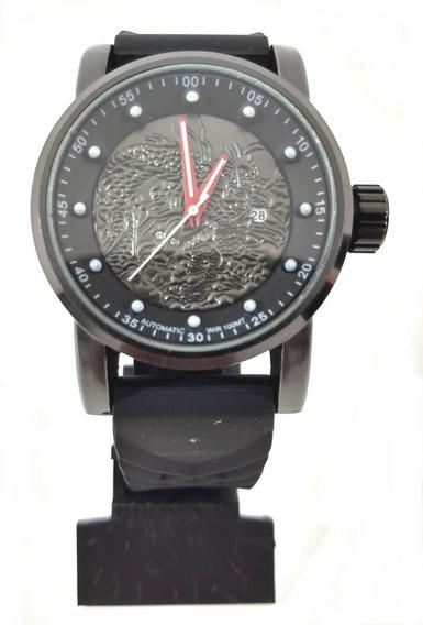 Relógio Esportivo Preto 1322 Masculino + Caixinha Promoção