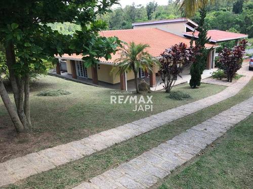 Chácara Com 3 Dormitórios À Venda, 2700 M² Por R$ 780.000,00 - Pinhal - Cabreúva/sp - Ch0142