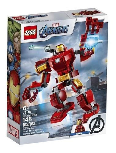 Lego Iron Man Lego 76140 Marvel 148 Pz Avengers Mech Ironman