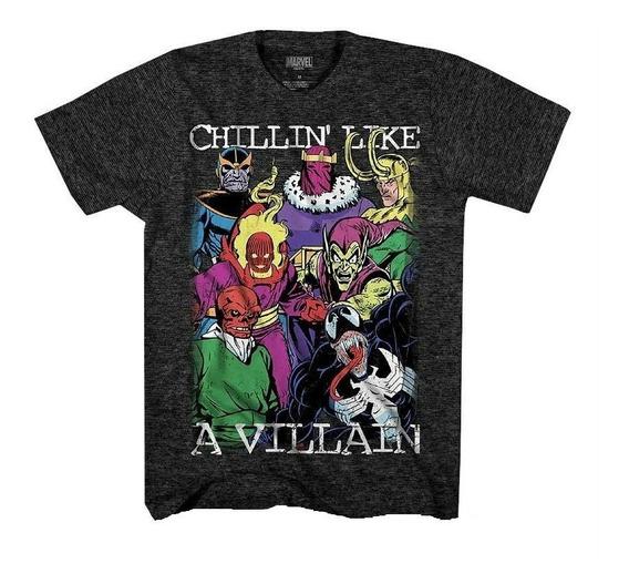 Remeras Villanos Marvel Originales Importadas Nuevas!!!