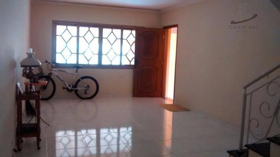 Sobrado Residencial À Venda, Vila Scarpelli, Santo André. - So0189
