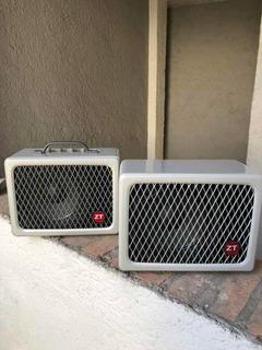 Amplificador Para Guitarra Zt Lunchbox 200w + Cabinet Y Bags
