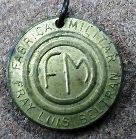 Medalla - M -fabrica Militar F. L. Beltran - Rosario - 1963