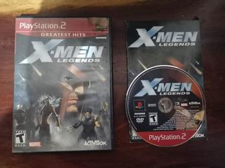 X Men Legends Ps2 Playstation 2