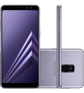 Smartphone Samsung Galaxy A8 Tela 5.6 - Ametista