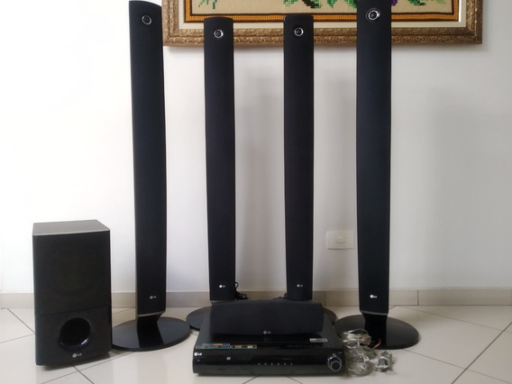 Caixas De Som Do Home Theater LG Ht904 Wa, 1000w Rms De Pot.