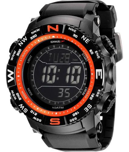 Relógio Masculino Speedo Digital Preto 81137g0evnp7