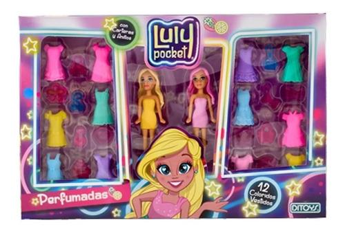 Luly Pocket Muñecas Perfumadas  Vestidos Y Accesorios Ditoys