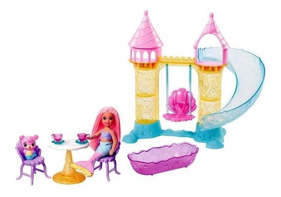 Barbie Dreamtopia Parque Aquático De Sereias Fxt20 Mattel