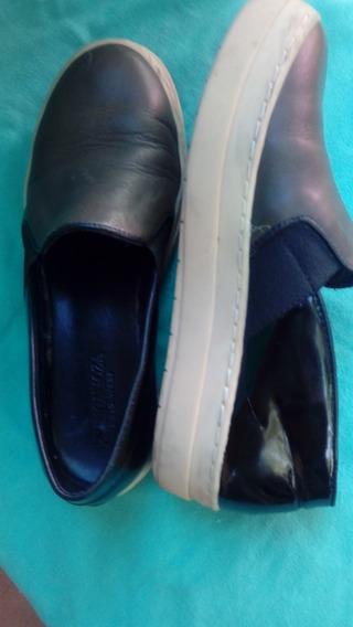 Zapatillas De Cuero Pringamoza Hpie 36