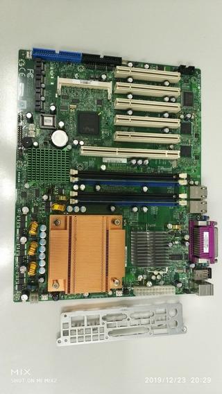 Placa Mãe Supermicro P8sct + Processador + 1gb Memória