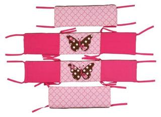 Mariposas Rosachocolate Parachoques Pad