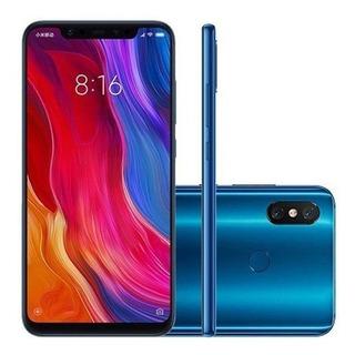 Xiaomi Mi 8 Novo 6gb, 128gb, Azul,global, Pronta Entrega!