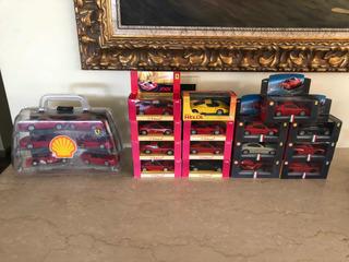 Coleções Ferrari Shell 21 Miniaturas 1:38