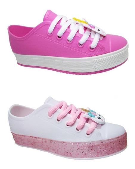 Tênis Juju Shoes Unicórnio Atacado Cx 12 Pares Do 25 Ao 32
