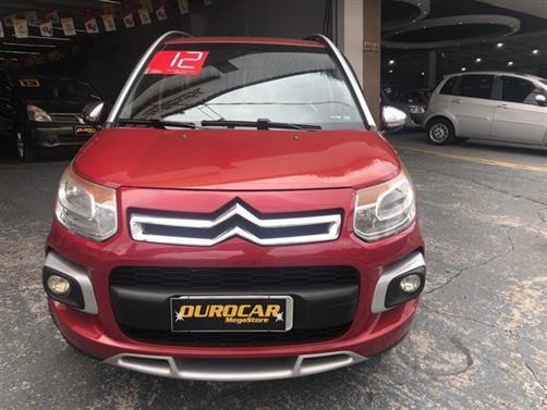 Citroen C3 Aircross Glx 1.6 Mec. 2012 - Carro Impecavel