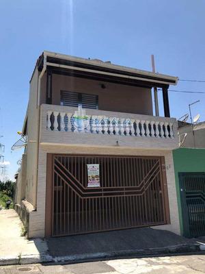 Sobrado Com 04 Dormitórios Sendo 01 Suíte Na Vila Dona Sara - V62917