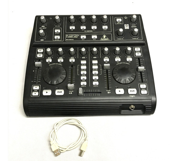 Behringer Bcd3000 Deejay B-control + Cabo Usb