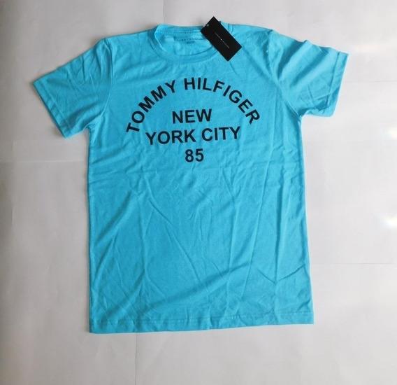 Playera Tommy Hilfiger Color Azul, Talla S