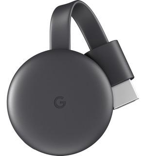 Google Chromecast 3 Generacion Smart Tv Usb + Fuente Sin Caja Versión Bulk