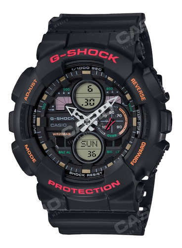 Imagen 1 de 9 de Reloj Casio G-shock Ga-140-1a4