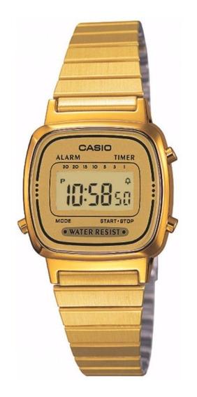 Relógio Casio Feminino Vintage La670wga-9