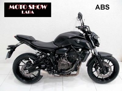 Yamaha Mt 07 Abs 2019 Preta