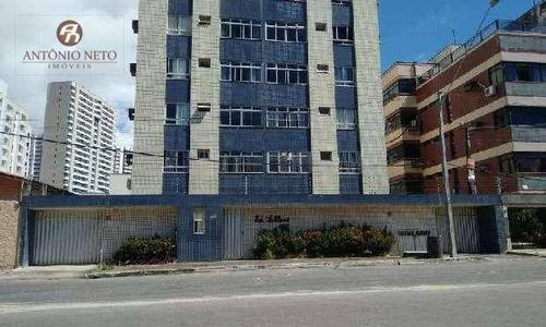 Imagem 1 de 13 de Apartamento  À Venda- Cocó - Fortaleza/ce - Ap0134