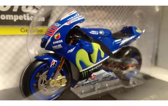 Coleccion Motos Competicion N°11 Yamaha Yzr M1 Jorge Lorenzo