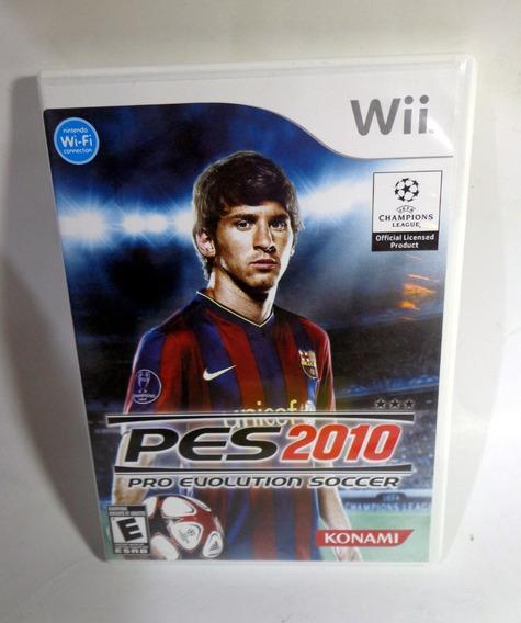 Pro Evolution Soccer 2010 Pes Original Nintendo Wii Completo