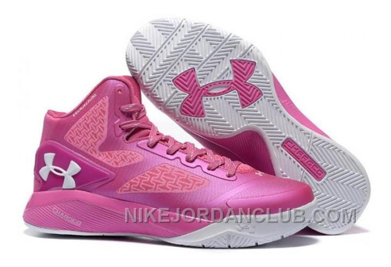Zapatillas De Basket Under Armour Fuccias