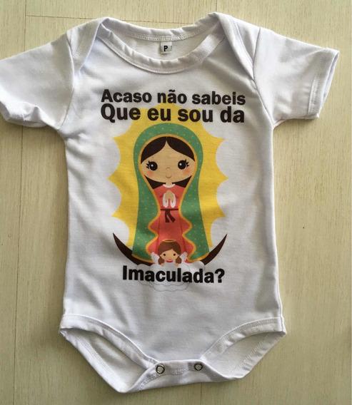 Body Bebê Nossa Senhora De Guadalupe