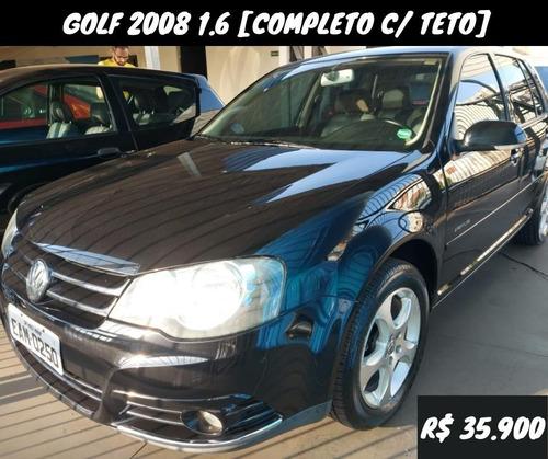 Golf Sportline 2008 1.6 [completo, Teto, Bancos Em Couro]