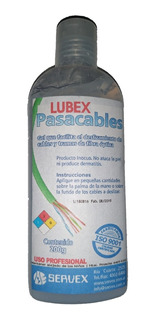 Gel Pasacable Lubex Servex Alta Performance